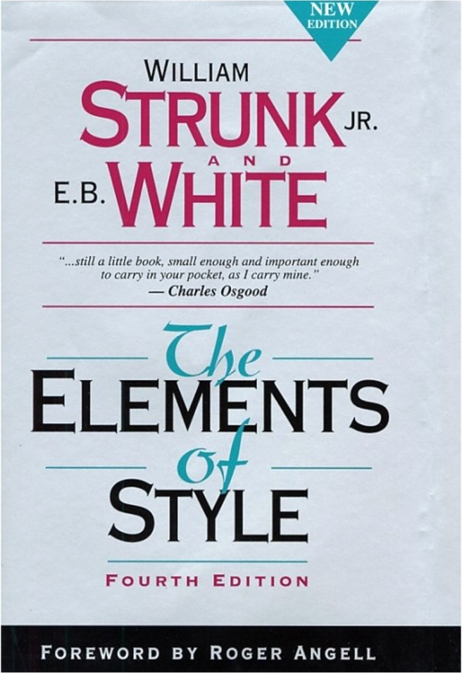 the elements of style pdf New Elements of Style by Trunk & White the perfect bookshelf